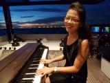 Pianovers Sailaway Pre-Event Shoot, Hui Jie playing