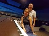 Pianovers Sailaway Pre-Event Shoot, Karina, and Sng Yong Meng