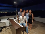 Pianovers Sailaway Pre-Event Shoot, Abel, Karina, Sueli, Hui Jie, and Sng Yong Meng