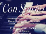 NUS Piano Ensemble, Con Spirito, Poster