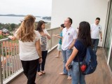 Pianovers Meetup #12, Talking in the big spacious balcony with great sea view