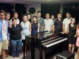Pianovers Sailaway Pre-Event Shoot, Group picture