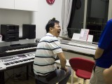 Pianovers Meetup #12, Zensen in the jamming studio