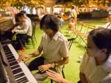 Pianovers Meetup #13, Harith, and Tabitha