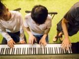 Pianovers Meetup #13, Luke, Jimmy, and Bryan jamming