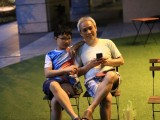 Pianovers Meetup #17, Jun En, and his father, Ang Chee Beng