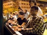 Pianovers Meetup #18, Siew Tin, and Peter Prem jamming