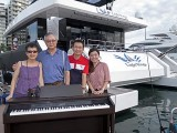Pianovers Sailaway 2016, Pre-boarding picture of Siok Hua, and Jing Lin
