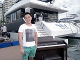 Pianovers Sailaway 2016, Pre-boarding picture of Phua Xi Kun