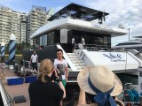 Pianovers Sailaway 2016, Pre-boarding picture of Phua Xi Kun, taken by Ken