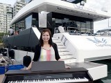Pianovers Sailaway 2016, Pre-boarding picture of Elyn Goh