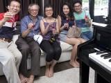 Pianovers Sailaway 2016, Lawrence, Jing Lin, Siok Hua, Xuefen, and Jim