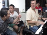 Pianovers Sailaway 2016, Chris Khoo starting the ball rolling