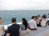 Pianovers Sailaway 2016, Group of Pianovers looking out to the sea
