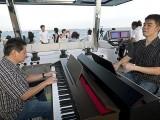 Pianovers Sailaway 2016, Gee Yong, and Mark Sim