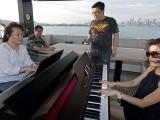 Pianovers Sailaway 2016, Junn Lim, and Julia Goh