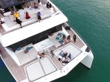 Pianovers Sailaway 2016, Aerial shot of the yacht #2