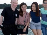 Pianovers Sailaway 2016, Ken, Mei Ting, Xuefen, and Jim