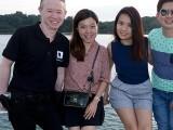 Pianovers Sailaway 2016, Ken, Mei Ting, Xuefen, and Jim