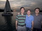 Pianovers Sailaway 2016, Zensen, Yong Meng, and Jerome