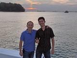 Pianovers Sailaway 2016, Yong Meng, and Mark