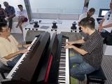 Pianovers Sailaway 2016, Chris Khoo, and Mark Sim playing piano