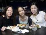 Pianovers Sailaway 2016, Buffet dinner, Karen Tan, Yan Yu Tong, and Cynthia Tan