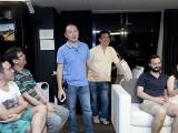 Pianovers Sailaway 2016, Mini-Recital, Yong Meng introducing this segment