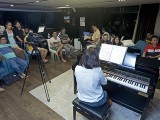 Pianovers Sailaway 2016, Mini-Recital, Junn performing #1