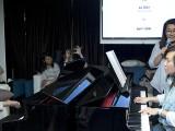 Pianovers Sailaway 2016, Mini-Recital, Junn and Dorothy performing #2