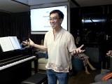 Pianovers Sailaway 2016, Mini-Recital, Chris sharing his piece