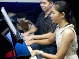 Pianovers Sailaway 2016, Mini-Recital, Mark and Cai Ping performing #2