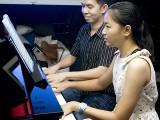 Pianovers Sailaway 2016, Mini-Recital, Mark and Cai Ping performing #2