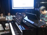 Pianovers Sailaway 2016, Mini-Recital, Zensen performing #1