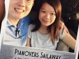 Pianovers Sailaway 2016, 4R print of Yong Meng, and Lorraine