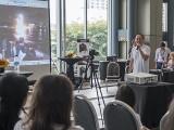 Pianovers Meetup #19, Yong Meng sharing moments from Pianovers Sailaway 2016