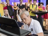 Pianovers Meetup #19, Chee Beng performing to the crowds