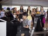 Pianovers Meetup #20, Wang Yi Fan performing