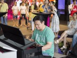 Pianovers Meetup #20, Gee Yong performing to the crowds