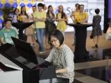 Pianovers Meetup #20, Yayoi Murai performing