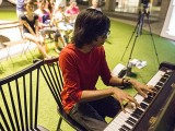 Pianovers Meetup #21, Harith performing