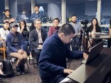 Pianovers Meetup #22, Paul Seow performing for the crowds
