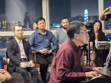 Pianovers Meetup #22, Chris Khoo performing for the crowds