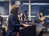 Pianovers Meetup #22, Nadrah performing
