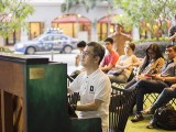 Pianovers Meetup #23, Isao performing