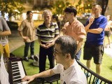 Pianovers Meetup #23, Isao playing