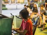 Pianovers Meetup #24, Harith performing