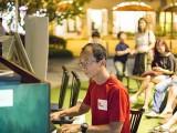 Pianovers Meetup #24, Matthew performing