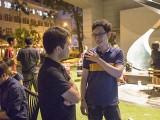 Pianovers Meetup #24, Hyon, and Chris, chatting