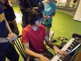 Pianovers Meetup #24, Harith playing